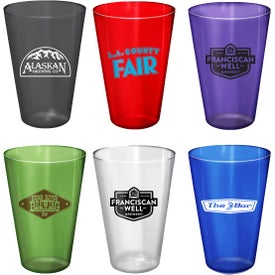 Plastic Pint Glass (16 Oz.)