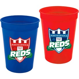 Plastic Stadium Cup Imprinted with Your Logo