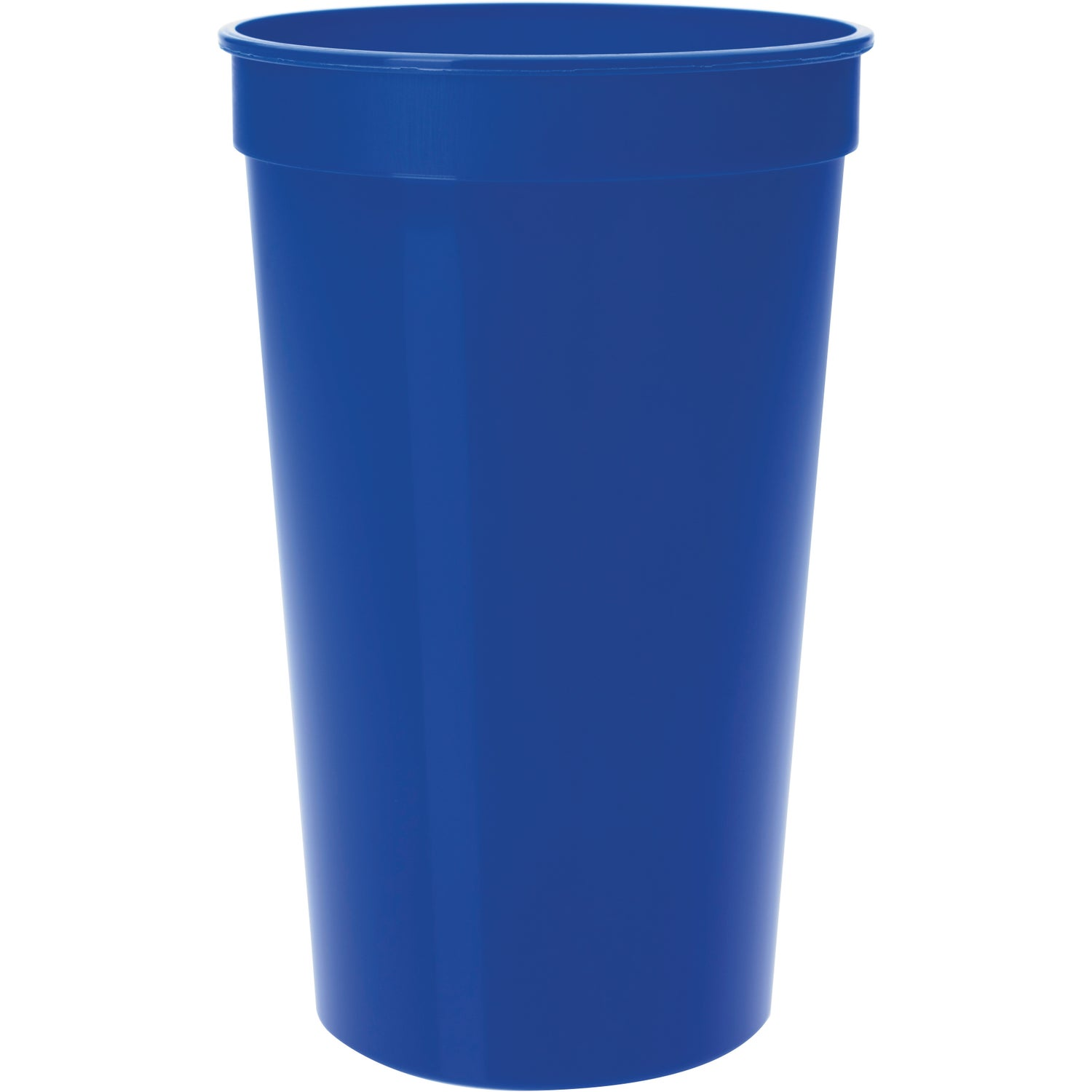 Plastic Stadium Cup 22 Oz Logo Drinkware And Barware