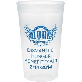 Customized Plastic Stadium Cup