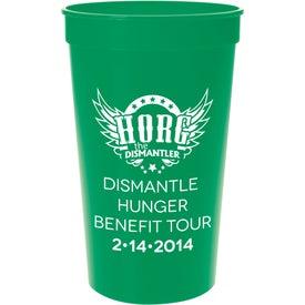 Logo Plastic Stadium Cup