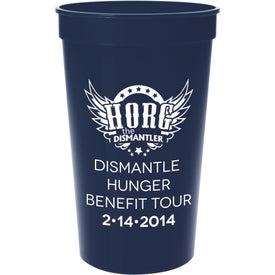 Printed Plastic Stadium Cup