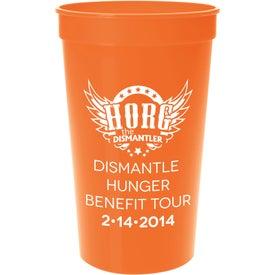 Monogrammed Plastic Stadium Cup