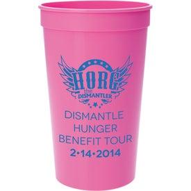 Personalized Plastic Stadium Cup