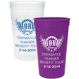 Plastic Stadium Cups (22 Oz.)