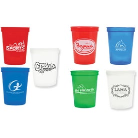 Plastic Stadium Cups with Your Logo