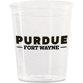 Polystyrene Plastic Shot Cup (2 Oz.)