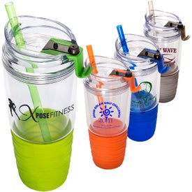 Quench Acrylic Tumbler with Straw (22 Oz.)