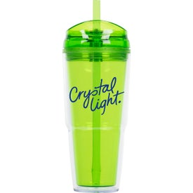 Advertising Quench Double Wall Acrylic Tumbler