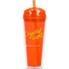 Imprinted Quench Double Wall Acrylic Tumbler