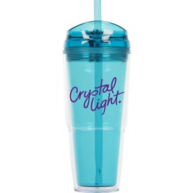 Quench Double Wall Acrylic Tumbler with Your Slogan