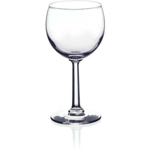Red wine glass 8 5 oz logo drinkware and barware 1 for Large red wine glass