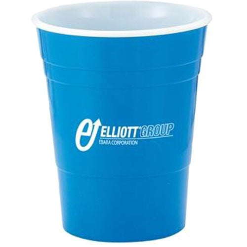 Reusable Plastic Party Cup 16 Oz Logo Drinkware And
