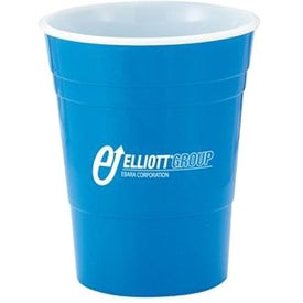 Logo Reusable Plastic Party Cup