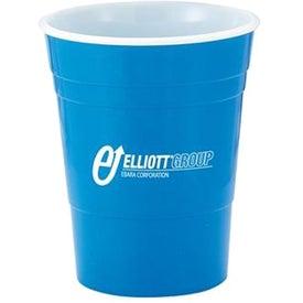 Logo Reusable Plastic Party Cup