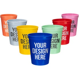 Reusable Plastic Stadium Cup (16 Oz.)