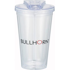 Sedici Flip Tumbler Branded with Your Logo