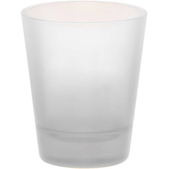 Frosted Shot Glass with Frosted Glass