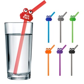 Silicone Straw with Clipsters