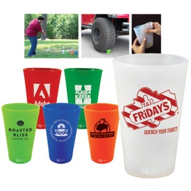 Branded Silipint Silicone Tumbler