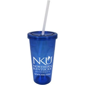 Promotional Single Wall Acrylic Carnival Tumbler