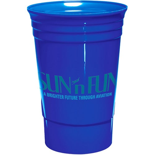 Blue Single Wall Everlasting Party Cup