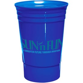Single Wall Everlasting Party Cup with Your Logo