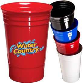 Single Wall Everlasting Party Cup (20 Oz.)