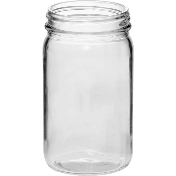 Clear Small Color Mason Jar