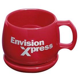 Promotional Souper Mug and Coaster/Lid
