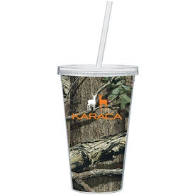 Spirit Tumbler (16 Oz. Mossy Oak)