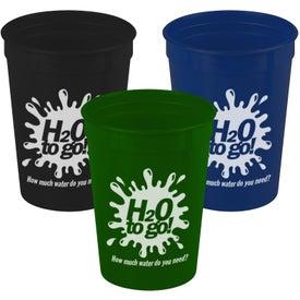Imprinted Stadium Cup