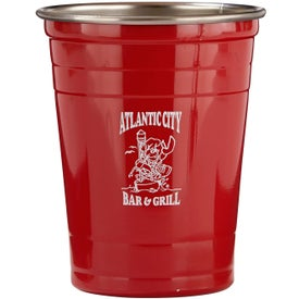 Stainless Steel Party Cup (16 Oz.)