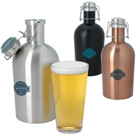 Stainless Growlers (64 Oz.)