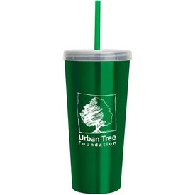 Imprinted Stainless Insulated Sipper Cup
