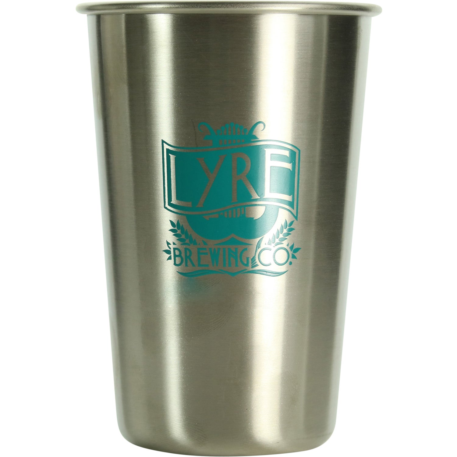Stainless Pint Glass (16 Oz.)