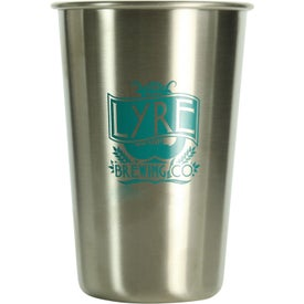 Stainless Pint Glasses (16 Oz.)
