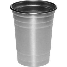 Stainless Steel Beer Cup (16 Oz.)