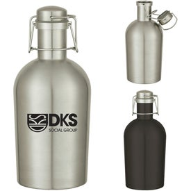 Stainless Steel Growler (64 Oz.)