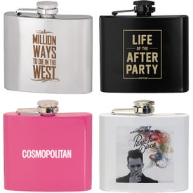 Stainless Steel Hip Flask (5 Oz.)