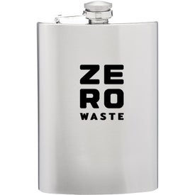 Stainless Steel Hip Flask (9 Oz.)