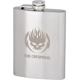Stainless Steel Hip Flask (8 Oz.)