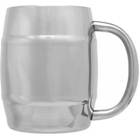 Stainless Steel Moscow Mule Barrel Mug (14 Oz.)
