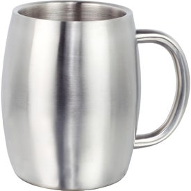Stainless Steel Mug with Handle (14 Oz.)