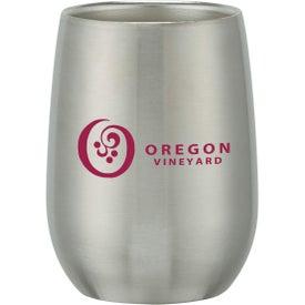Stainless Steel Stemless Wine Glass (9 Oz.)
