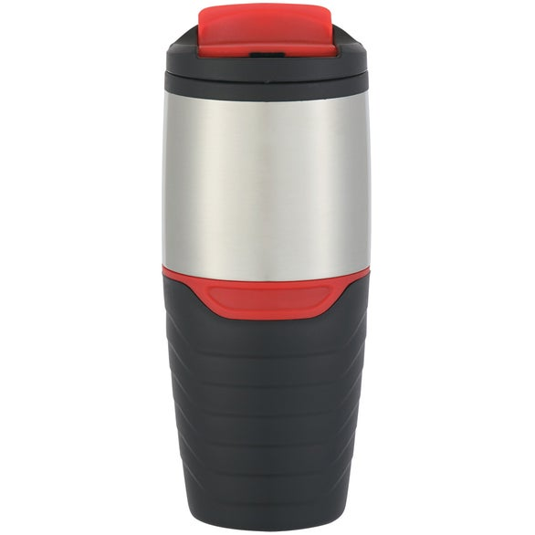 Stainless Steel Tumbler with Flip Lock Lid