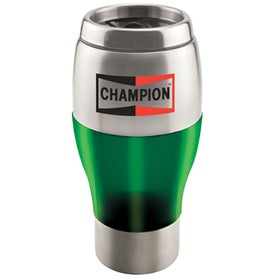 Promotional Stainless Steel Tumbler With Color Trim