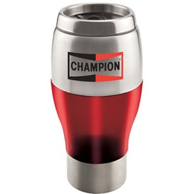 Stainless Steel Tumbler With Color Trim (16 Oz.)