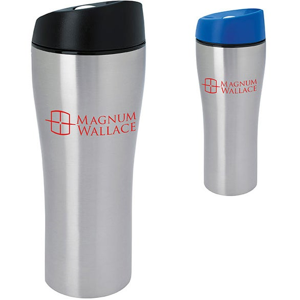Stainless Tumbler with Press Button Lid