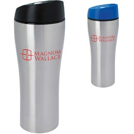 Custom Stainless Tumbler with Press Button Lid